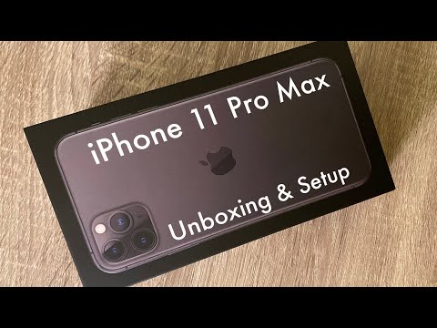 IPhone 11 Pro Max Unboxing And Setup