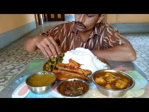Record Breaking Rice   Bottle Gourd Leaves   Fish Head Dal   Eggplant Snacks   Spicy Tilapia Fish