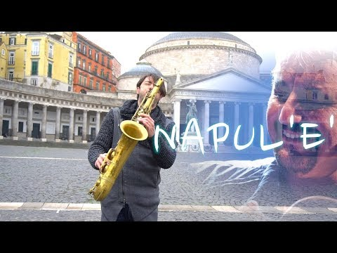 Napule è - PINO DANIELE, Cover Sax