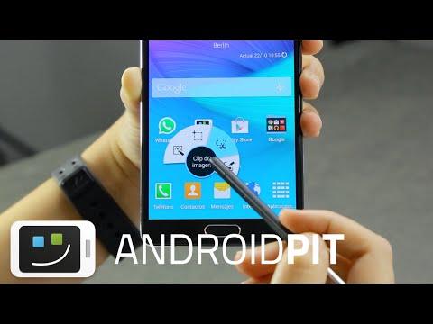 Samsung Galaxy Note 4 - Análisis completo en español