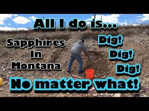 Spokane Bar Sapphire Mine - Mining America America Ep11 6/26/16 Helena Montana