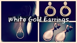 White Gold Earrings – Latest Designs From Amazon