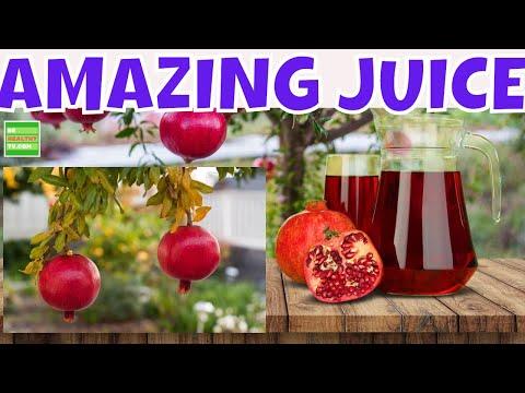 AMAZING BENEFITS of POMEGRANATE 7 Amazing Benefits of Pomegranate Juice