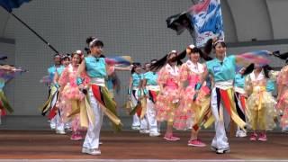 Super Yosakoi2013. Sun 25 Aug 2013. Yosakoi-harajiku. 原宿表参道元...