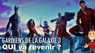 Les GARDIENS DE LA GALAXIE qui seront de RETOUR dans le VOL 3 !