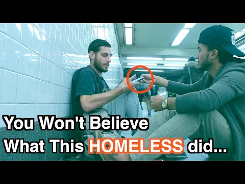 You Won't BELIEVE What This HOMELESS Did... (SOCIAL EXPERIMENT)