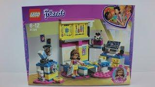 41329 LEGO® Friends Set Olivia´s Deluxe Bedroom Unboxing 4K by Brickmanuals