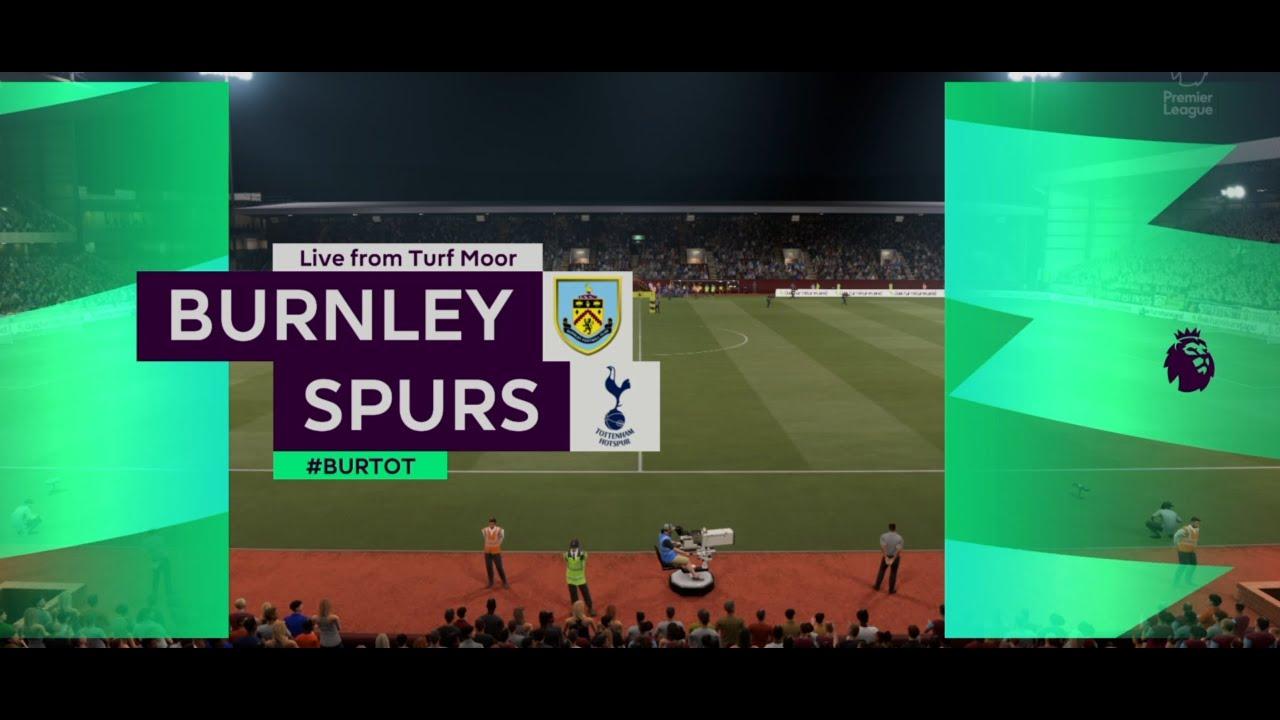 FIFA21~BURNLEY VS TOTTENHAM HOTSPUR~PREMIER LEAGUE 2020/21 GAMEPLAY -  YouTube