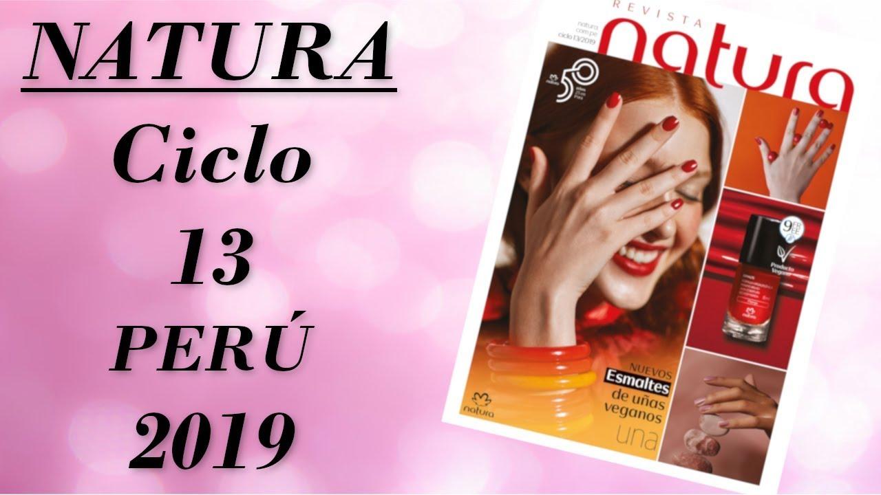 Catalogo Natura Ciclo 13 2019 Peru Youtube