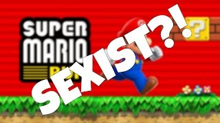 Super Mario Run is Sexist According to New York Times | RGT 85