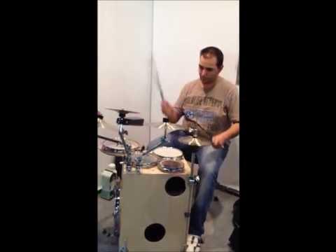 Kostas Velikis Musikmesse Play for GigPig Drums
