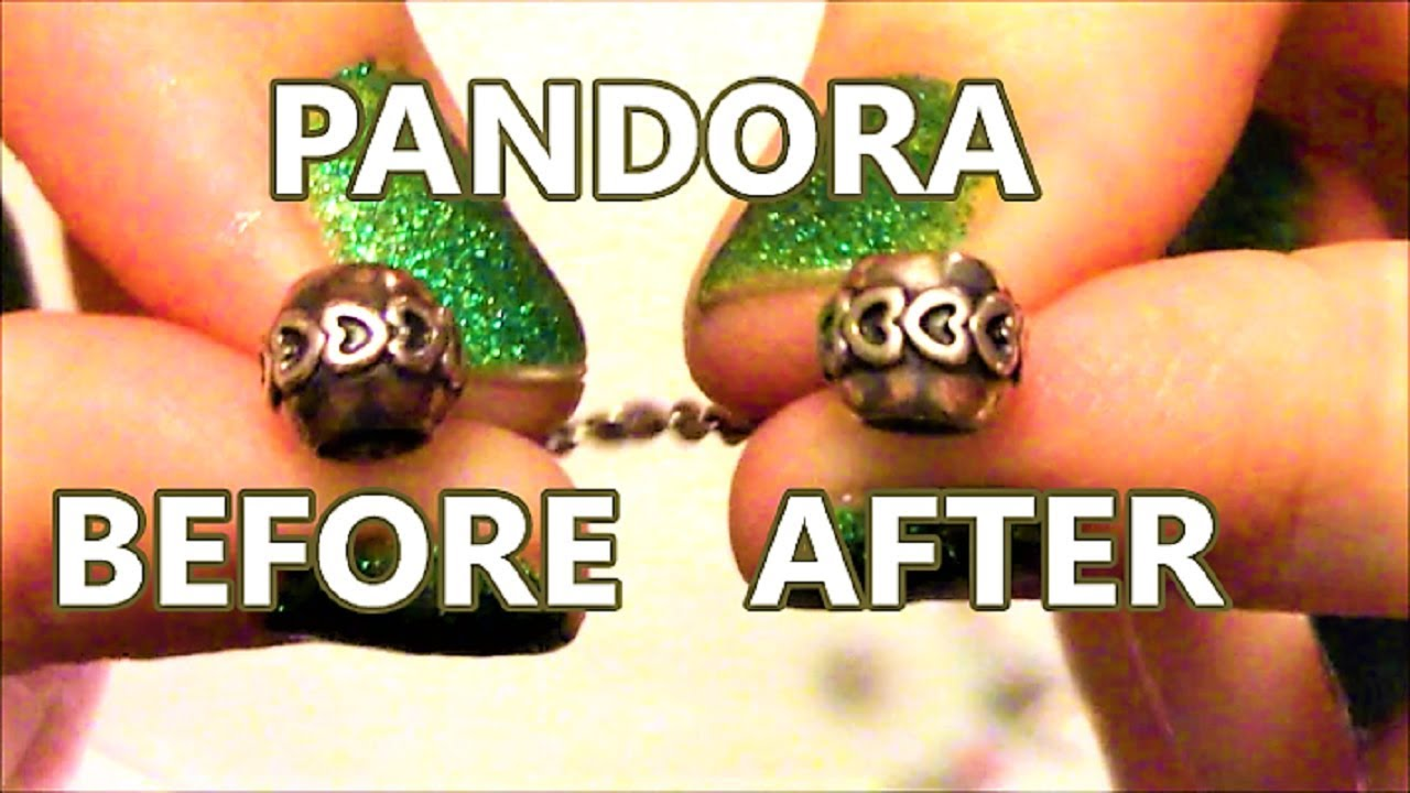 f2eac7cdd How To Clean Pandora Bracelet and Charms From Tarnish - YouTube