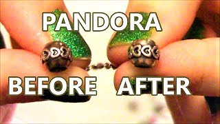 How To Clean Pandora Bracelet and Charms From Tarnish
