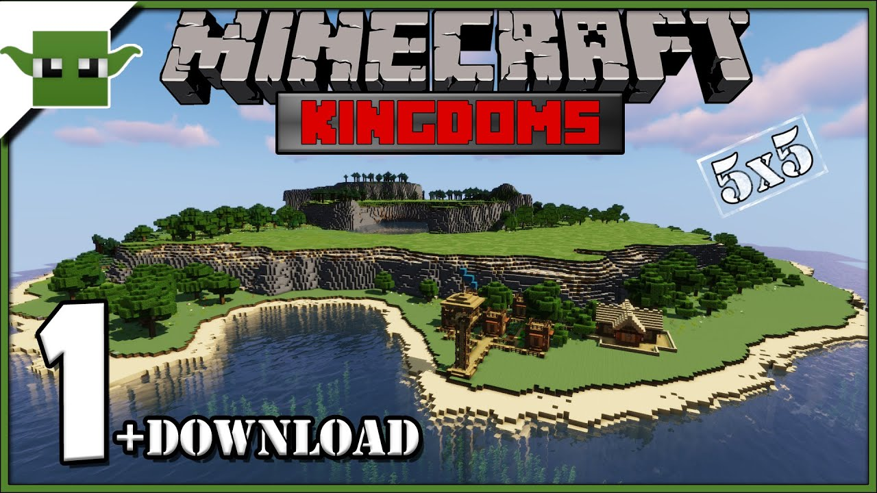 Minecraft 1.14 Let's Build a Medieval Kingdom S2E1 – A New Start + DOWNLOAD
