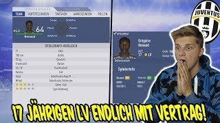 Dem 17 Jährigen LV endlich einen Vertrag angeboten! - Fifa 19 Karrieremodus Juventus Turin 157