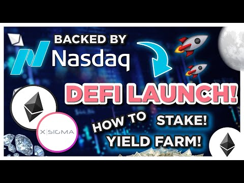 Staking And Yield Farming A New Crypto Token BACKED BY NASDAQ??