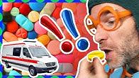 Spadli z jahody - Lieky nie sú cukríky - Hravé pesničky pre deti
