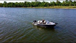 ПОЛНЫЙ живой обзор лодки GIRGIS 440DK на воде. Скорость, управляемость, отзывы владельца.