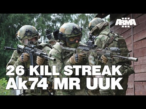 ARMA 3 RHS KOTH: 26 Kill Streak - AK-74 MR UUK