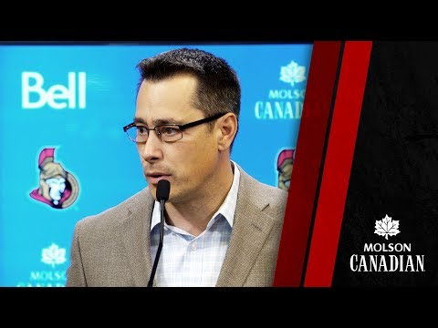 Sens vs. Flyers - Coach Pre-game