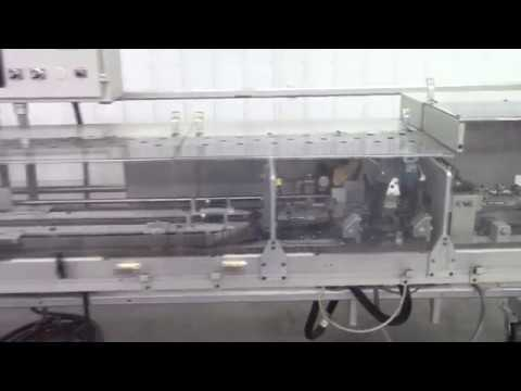 Bosch GS-1000 Double Fold Glue Bag Sealer w/ Trim - YouTube