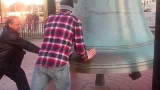 Ringing the Liberty Bell in Washington DC