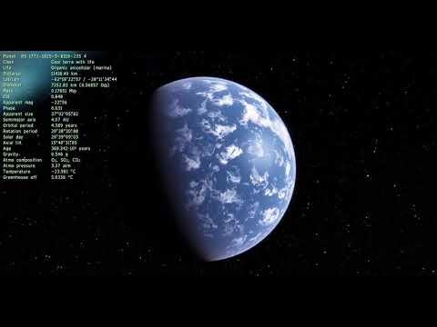 Getting Lost in Space Engine #74 Irregular galaxy
