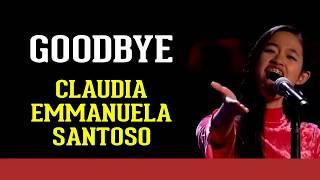 Claudia Emmanuela Santoso - goodbye [The Voice of Germany] (Lyrics) top 1 jerman