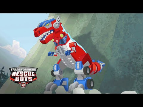 Transformers: Rescue Bots – 'Optimus Prime's Dino Mode' Official Clip