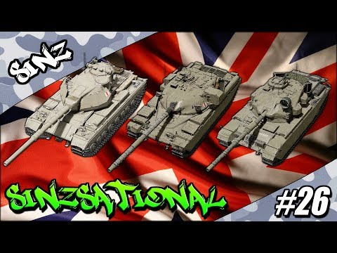 ROYAL ORDNANCE! - World of Tanks Console | SiNzsational #26 thumbnail