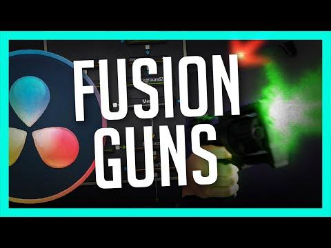 How To Make Gun Effects in Fusion - DaVinci Resolve VFX Tutorial
