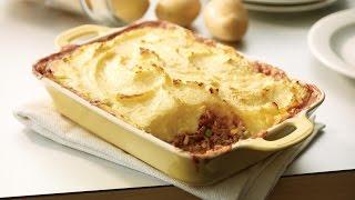 Cheesy Potato-topped Beef & Vegetable Shepherd's Pie | 2012 Milk Calendar Recipe