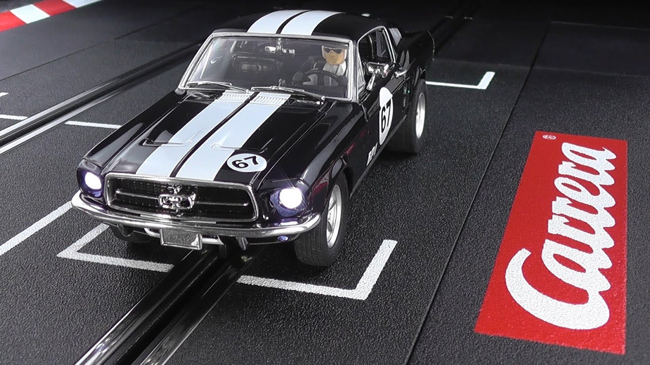test drive carrera 30670 ford mustang gt youtube. Black Bedroom Furniture Sets. Home Design Ideas