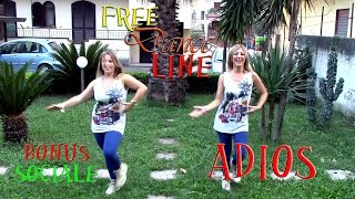 Free Dance Line - BONUS Sociale - Adios by Ricky Martin (Balli di Gruppo 2014)