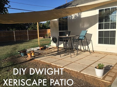 DIY XERISCAPE BACKYARD PATIO: Backyard Makeover!!!