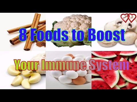 8 Foods to Boost Your Immune System