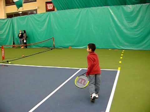 Mario Ordonez Tennis Pro Teaching Kids USTA Quickstart Tennis
