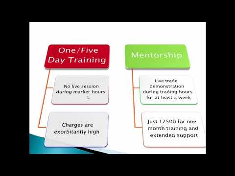 Mentorship! How is it Different? Learn the Art of Making Money