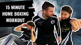 Boxing Home Workout | Boxing Training With No Equipment Needed
