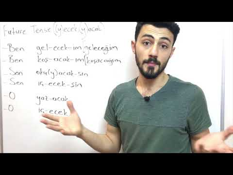 Learn Turkish- Future Tense