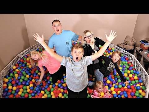 LAST TO LEAVE The Ball Pit!