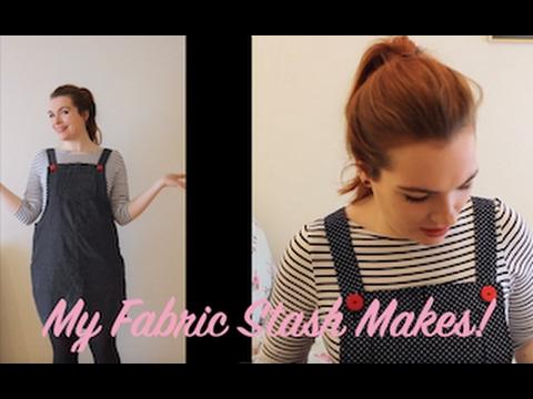 My Fabric Stash Makes!