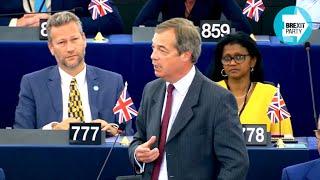 Farage: Ursula von der Leyen wants to build an updated form of Communism