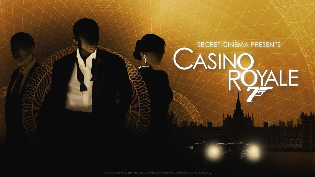 Secret Cinema Casino Royale Opening Night Preview - YouTube