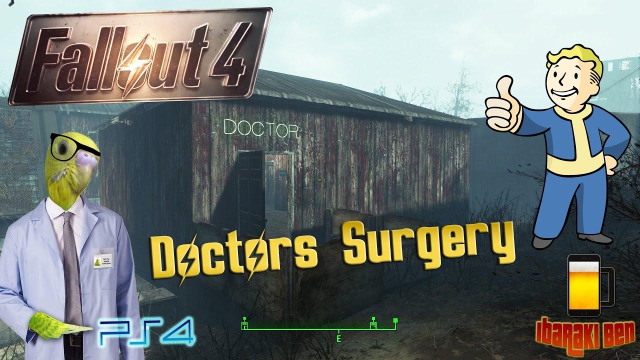 fallout 4 - perfect settlements - doctors surgery