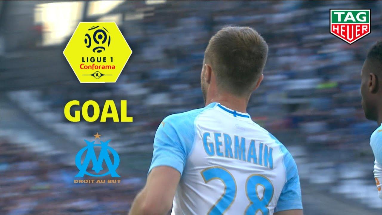 Goal Valere Germain 72 Olympique De Marseille Nimes Olympique 2 1 Om Nimes 2018 19 Youtube