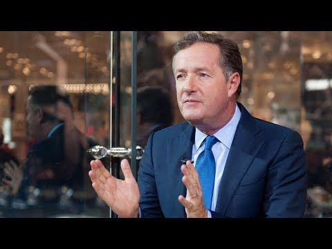 Piers Morgan Rage Tweets About Trump Butt-Sniffing Picture