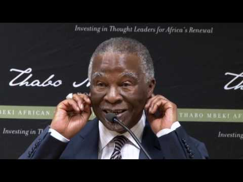 Q&A session with former President Thabo Mbeki - March 2017