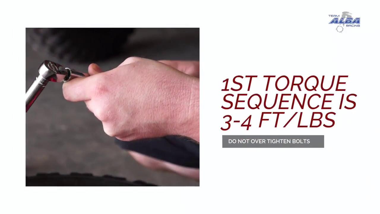 How To Install Atv Beadlock Wheels By Alba Racing  Teamalbaracing 01:55 HD