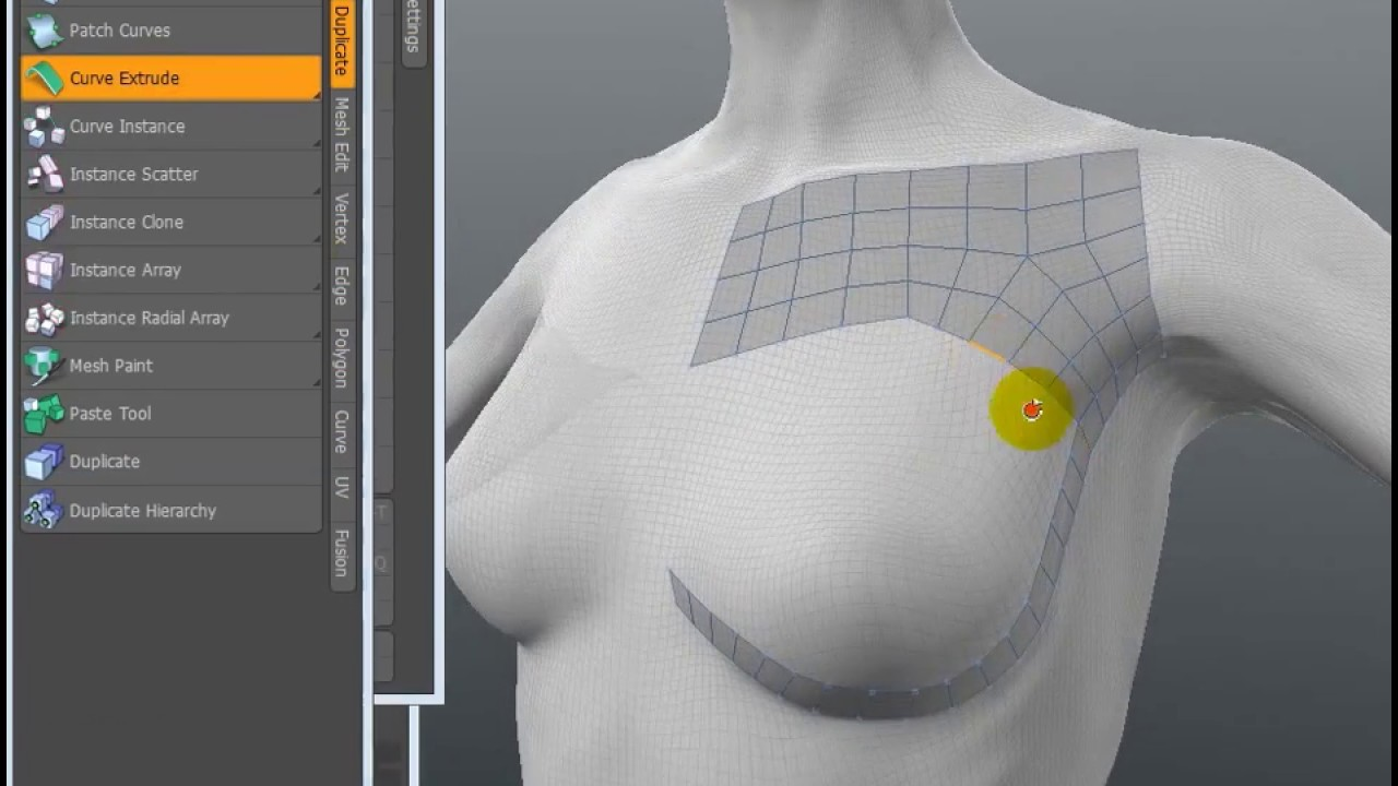 Great Free Retopo Tool - POLY / SDS / HARD SURFACE MODELING